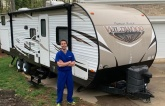 A Facebook group matches RVs that are sitting idle with health care workers who need a place to isolate after long hospital shifts