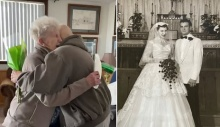 Coronavirus US: Husband surprises wife on her 84th birthday after being released from lockdown